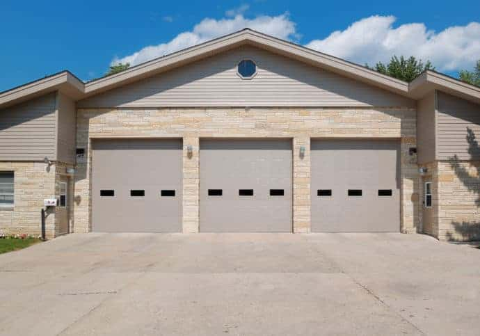Garage Doors Commercial Sectional