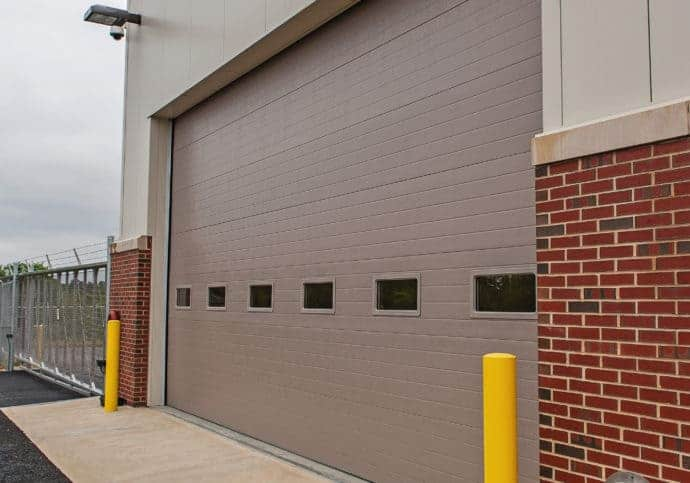 Garage Doors Commercial Sectional with Windows