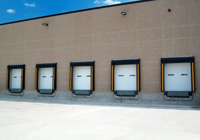 Garage Door Commercial Sectional Loading Dock Overhead Doors