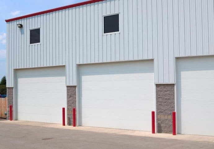 Garage Door Commercial Sectional Steel Warehouse Overhead Doors