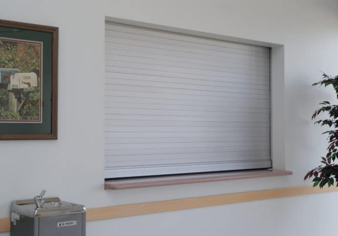 Garage Door Rolling Counter Shutter