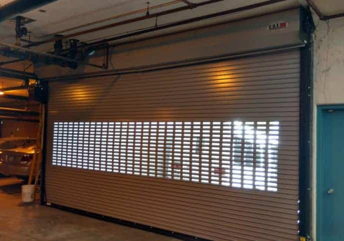 Garage Door Rolling Steel Overhead Door with Windows