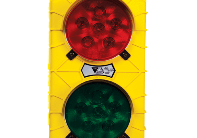 Garage Door Commercial Traffic Light