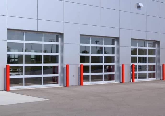Garage Door Commercial Door For Auto Dealer