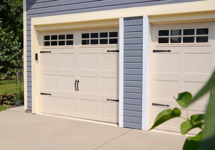 Garage Door Coach House Almond