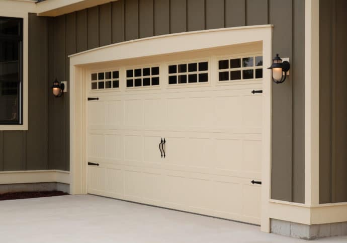Garage Door Coach House Double Door
