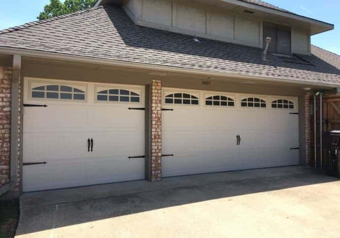 Garage Door Long Panel Coach House with Windows