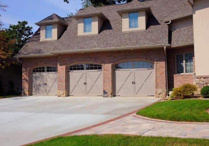 Garage Door Coach House Overlay with Windows