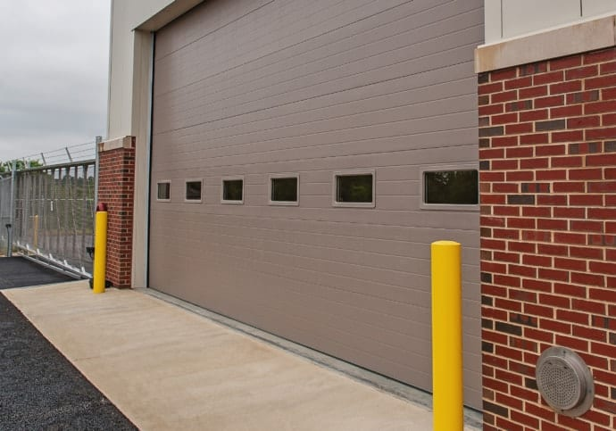 Garage Door Commercial Sectional with Windows