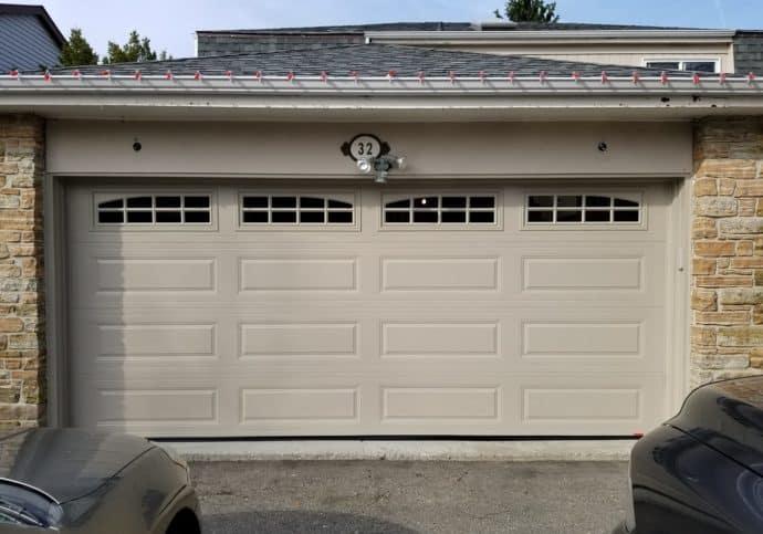 Garage Door Long Panel Platinum Series