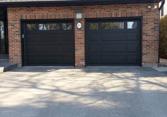 Garage Door Platinum Series Mixed Panel