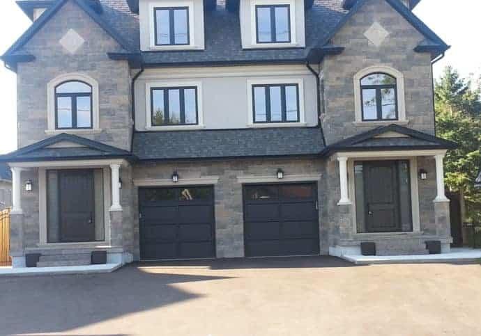 Garage Door Recessed Panel Platinum Series