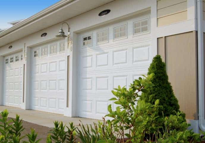 Garage Doors Short Panel Platinum Series With Windows