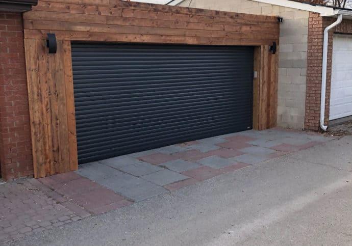Garage Door Lane way Roll Up Door