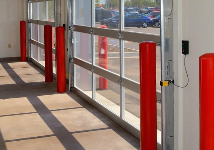 Garage Door Full View Aluminum Overhead Doors