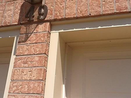 Garage Door Aluminum Capping