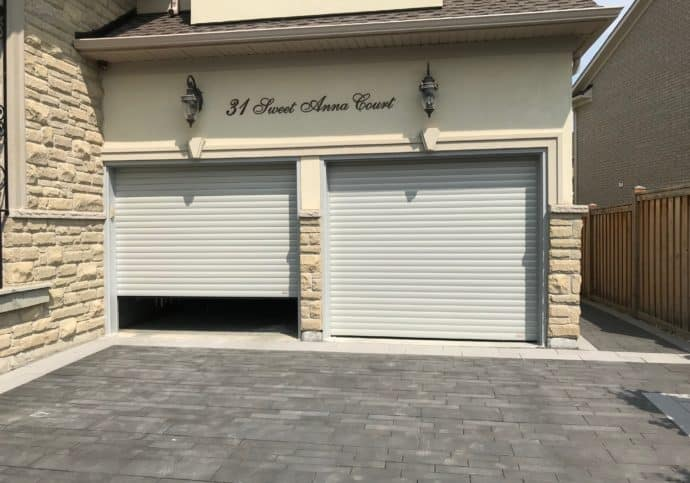 Garage Door Modern European Style Roll Up Door