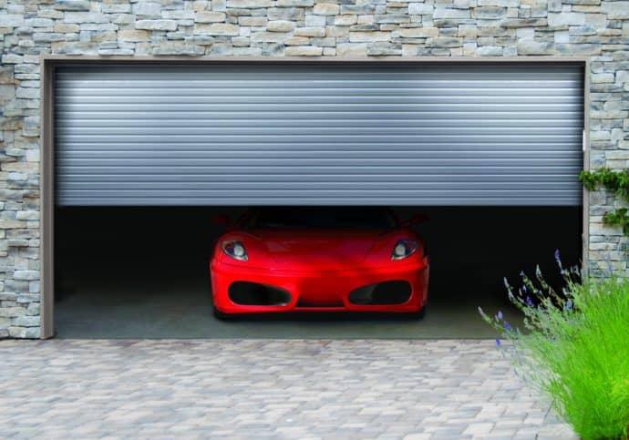Garage Door European Style Roll Up Door