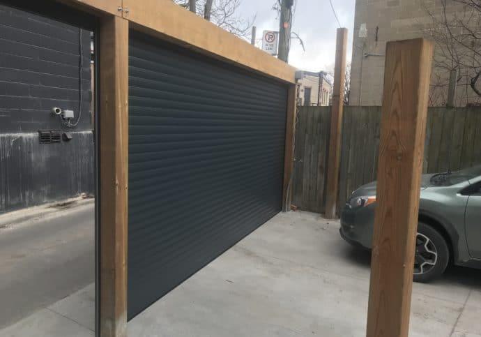 Garage Door Roll Up