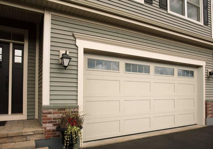Garage Door Shaker Style