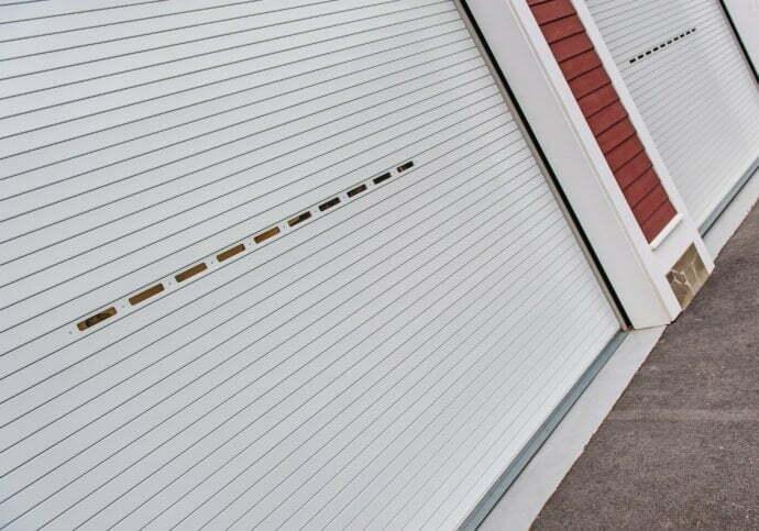 Garage Door Rolling Steel Overhead Doors With Windows
