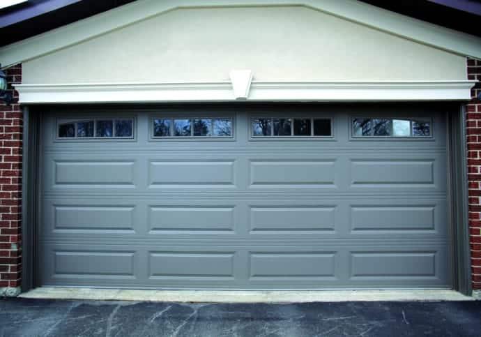Garage Door Long Raised Panel