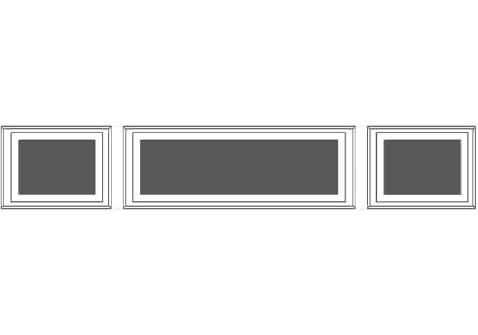 Garage Doors Windows For Recessed Mixed Panel Door