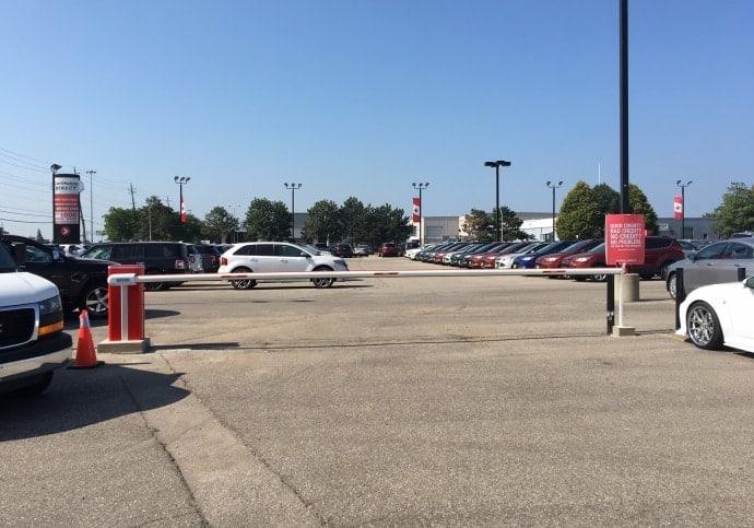 Barrier Gate for Parking Lot