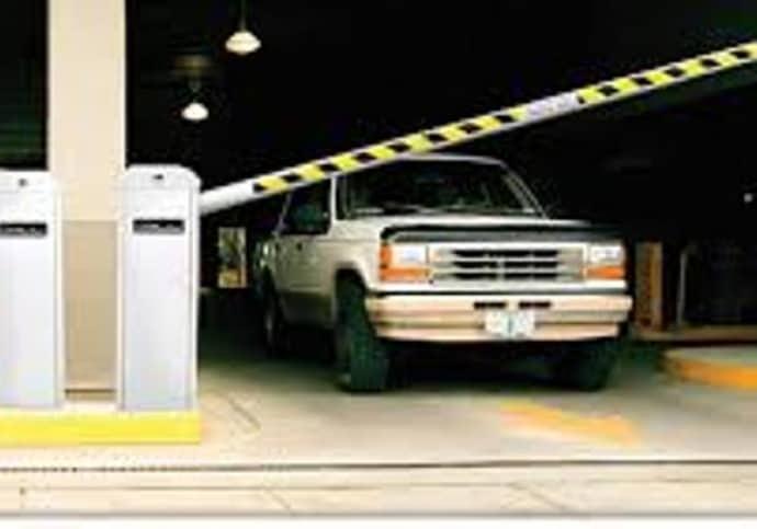 Barrier Gate for Parking Garage