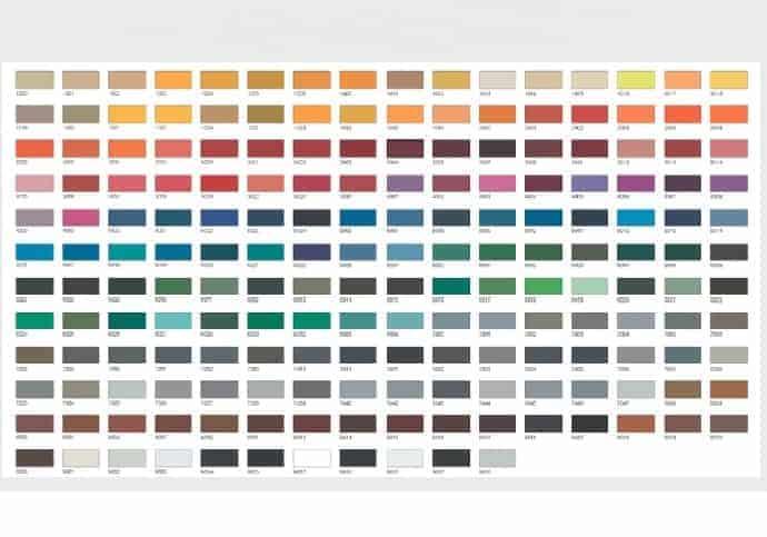 Garage Door Custom Colours
