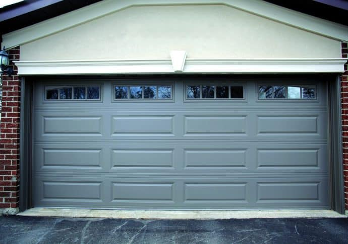 Garage Doors Long Raised Panel