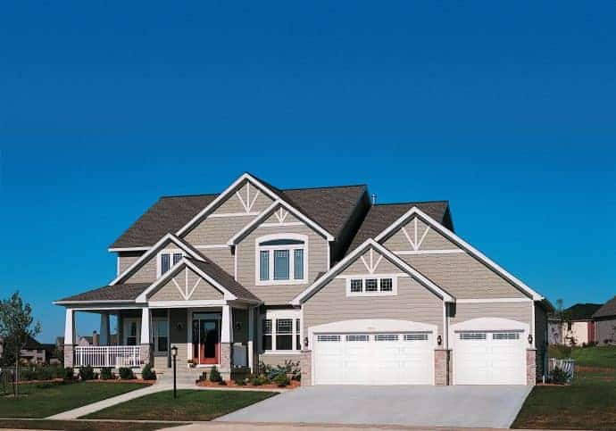 T11 Traditional Garage Doors - Raised Panel Garage Door