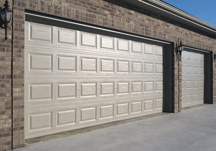 Garage Doors Traditional Raised Short Panel