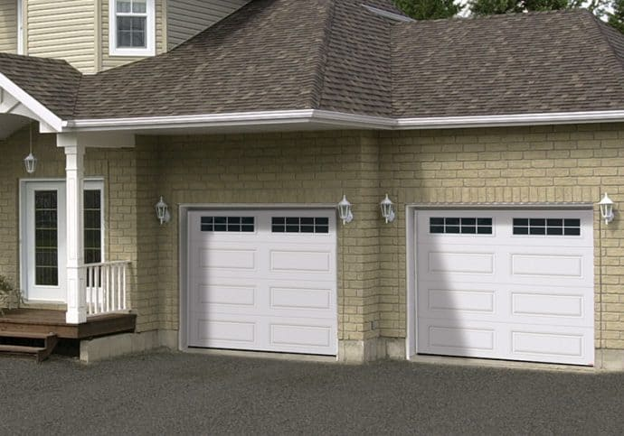 Garage Doors Steel Long Panel Door