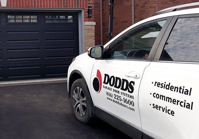 Garage Door Dodds Residential Sales