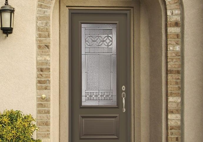 Dodds Steel Front Doors - Bronze Executive Panel