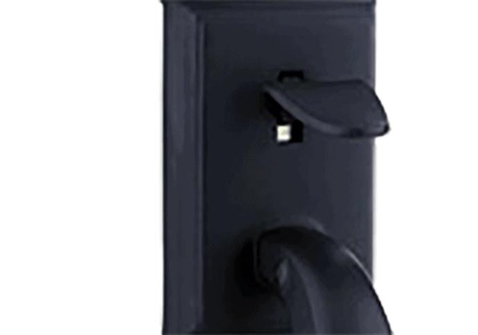 Hardware Option - Iron Black Finish