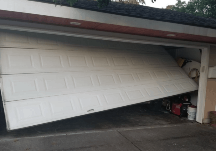 Garage Door Off Track